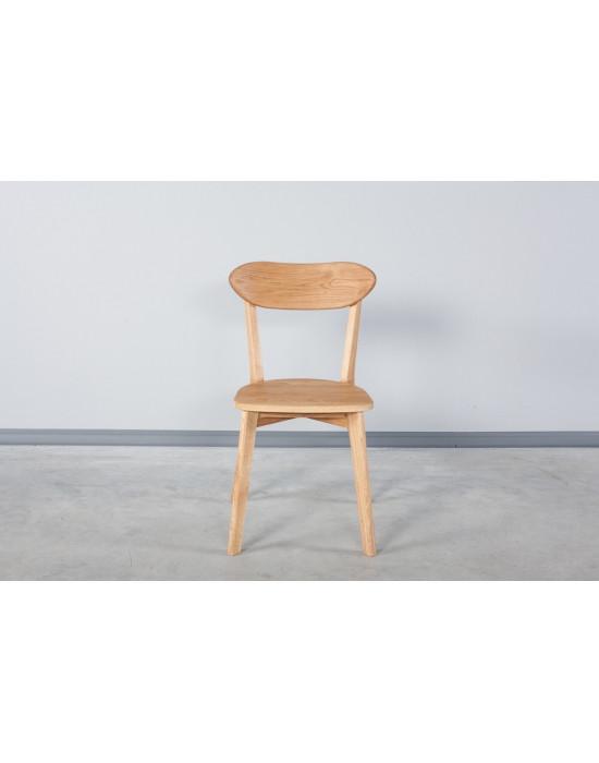 """Стілець ISKU з дерев""""яним сидінням"""