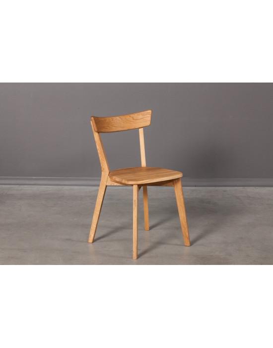 """Стілець URBANO з дерев""""яним сидінням"""
